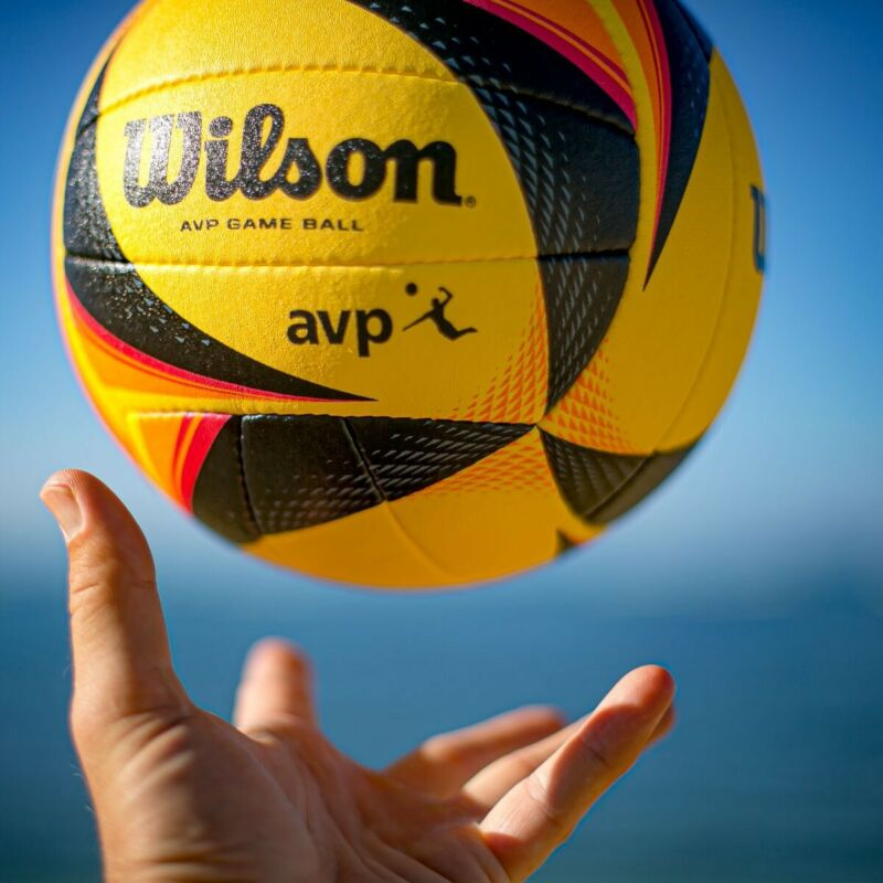 New Official Game Ball of AVP Pro Beach Volleyball Tour OPTX Condition new