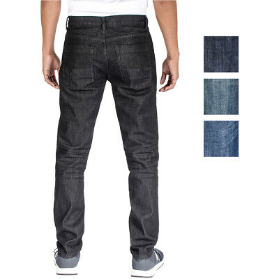 Alta Denim Men's Stretch Skinny Slim Fit 5-Pocket Fashion Jeans