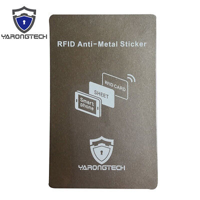Rfid Anti-metal Stickerrfid Blocking Sticker On Metal Cell Phone Protect Signal