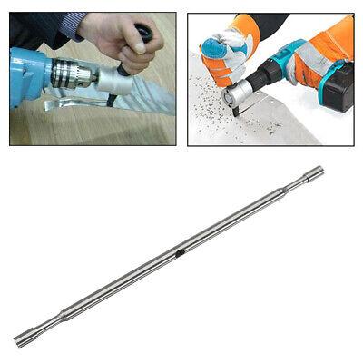Replace Nibbler Punch Metal Double Head Sheet Drill Nibbler Saw Cutter Tool D