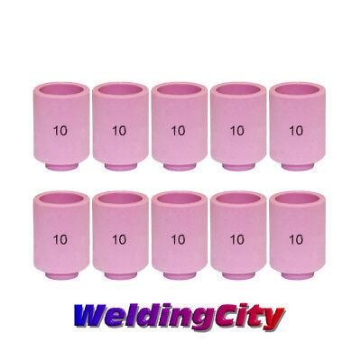 Weldingcity 10-pk Ceramic Cup Nozzle 13n13 10 58 Tig Welding Torch 92025 Us