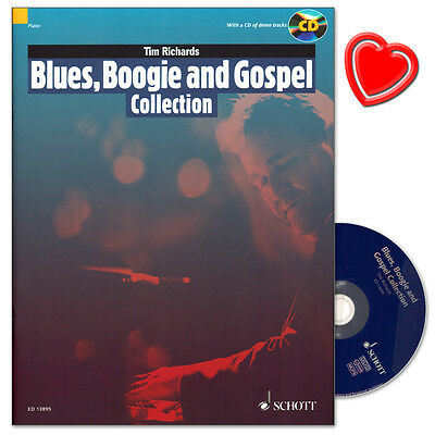 Blues, Boogie and Gospel Collection mit CD - Schott - ED13895 - 9781847614230
