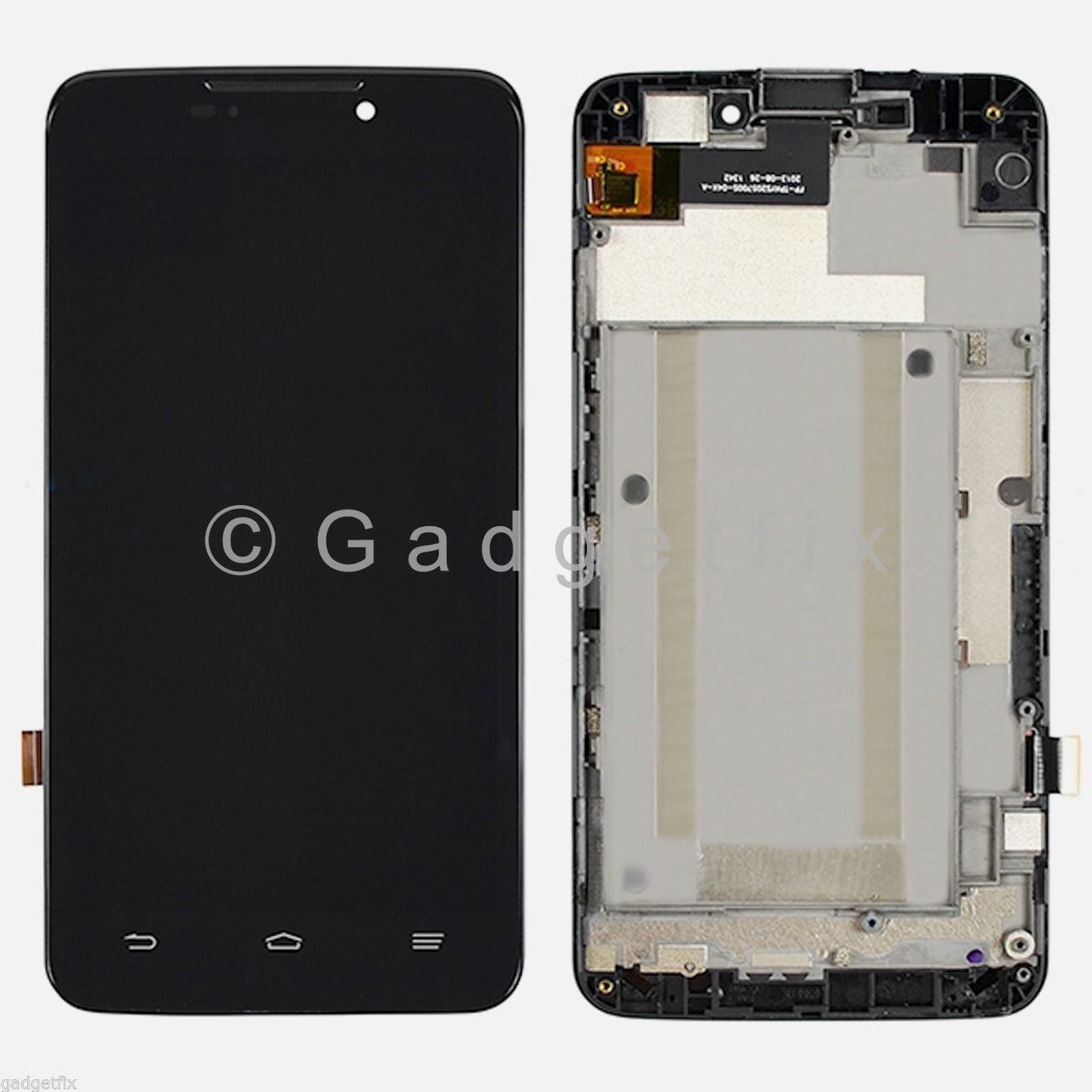"""Zte Max Boost Mobile N9520 5.7"""" Lcd Screen Display Touch ..."""