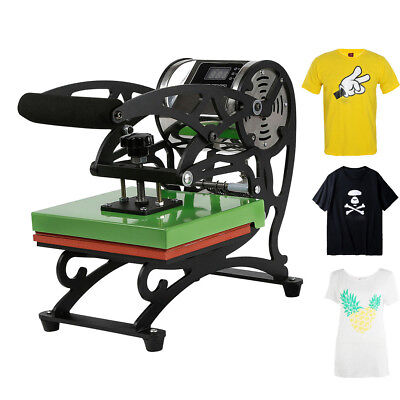 2018 New Type Portable T-shirt Heat Press Dual Digital Transfer Machine