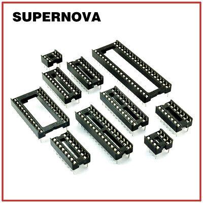 Ic Socket Adaptor Solder Type Socket Dip-6p8p14p16p18p20p24p28p32p40p