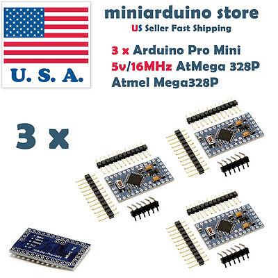 Atmega328p Arduino Mini Pro Mini Board Compatible Module 5v 16mhz Bootloader