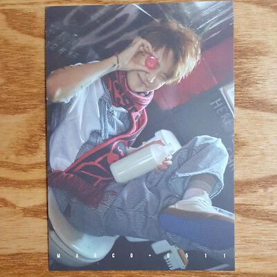 Marco Authentic Postcard UNB 1st Mini Album Boyhood Kpop Genuine