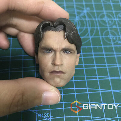 Custom 16 Scale Arnold Schwarzenegger 1 T800 Head Sculpt For Phicen body