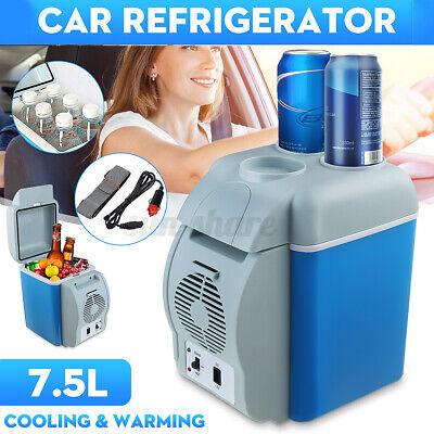Mini 7.5L Portable Car Refrigerator Freezer Warmer Cooler Camping Fridge Travel