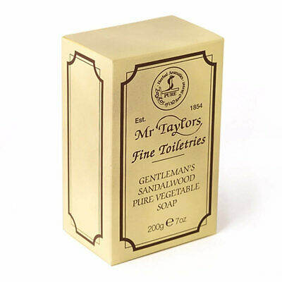 Sandalwood Bath Soap by Taylor of Old Bond Street (200g Soap