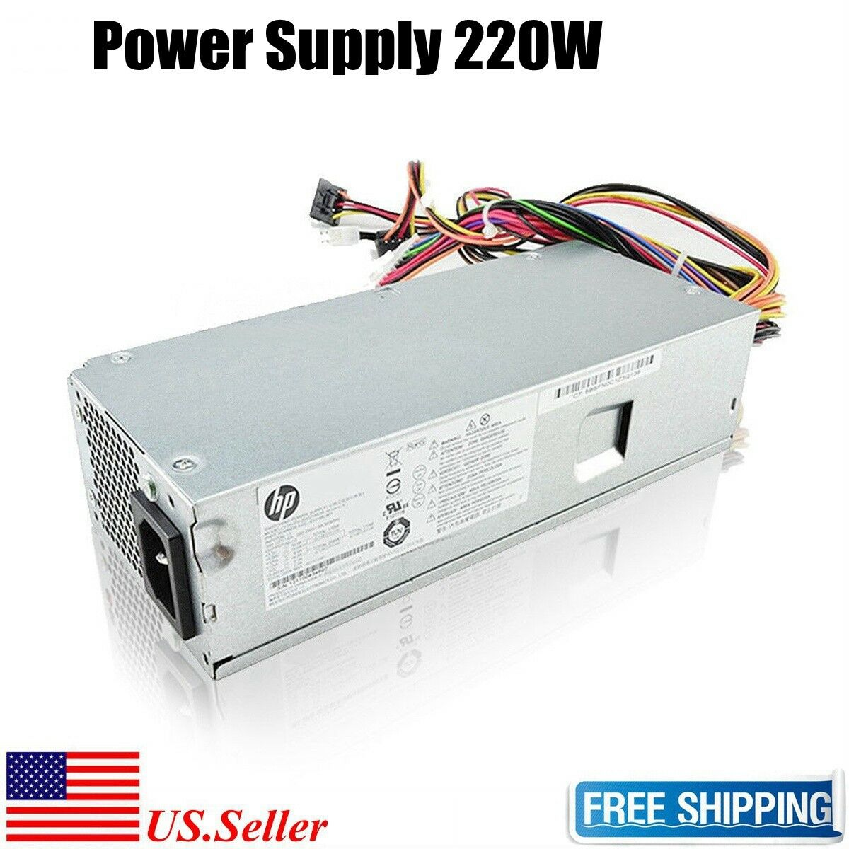 250W HP Power Supply FH-ZD221MGR Rev NEW! A P//N# 633195-001 Replace