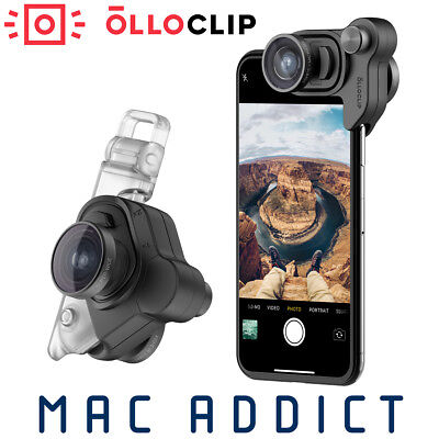 Olloclip Mobile Photography Lens Set For iPhone X | Fisheye Super-Wide Micro