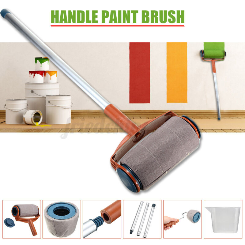 US Multifunctional Clean-Cut Paint Edger Roller Brush Safe Tool for Wall Ceiling