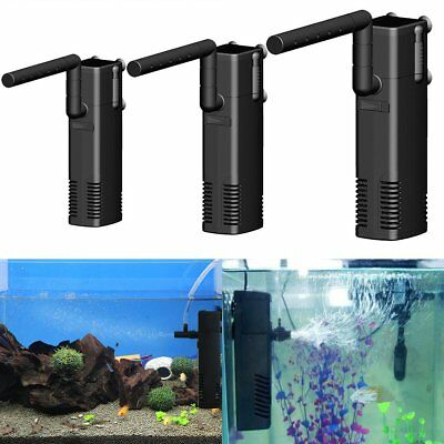 300-1000L/H Fish Tank Aquarium Internal Submersible Water Power Filter Pump