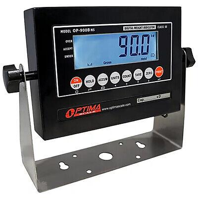 Optima Op-900b-01 Mild Steel Digital Lcd Weighing Indicator Ntep