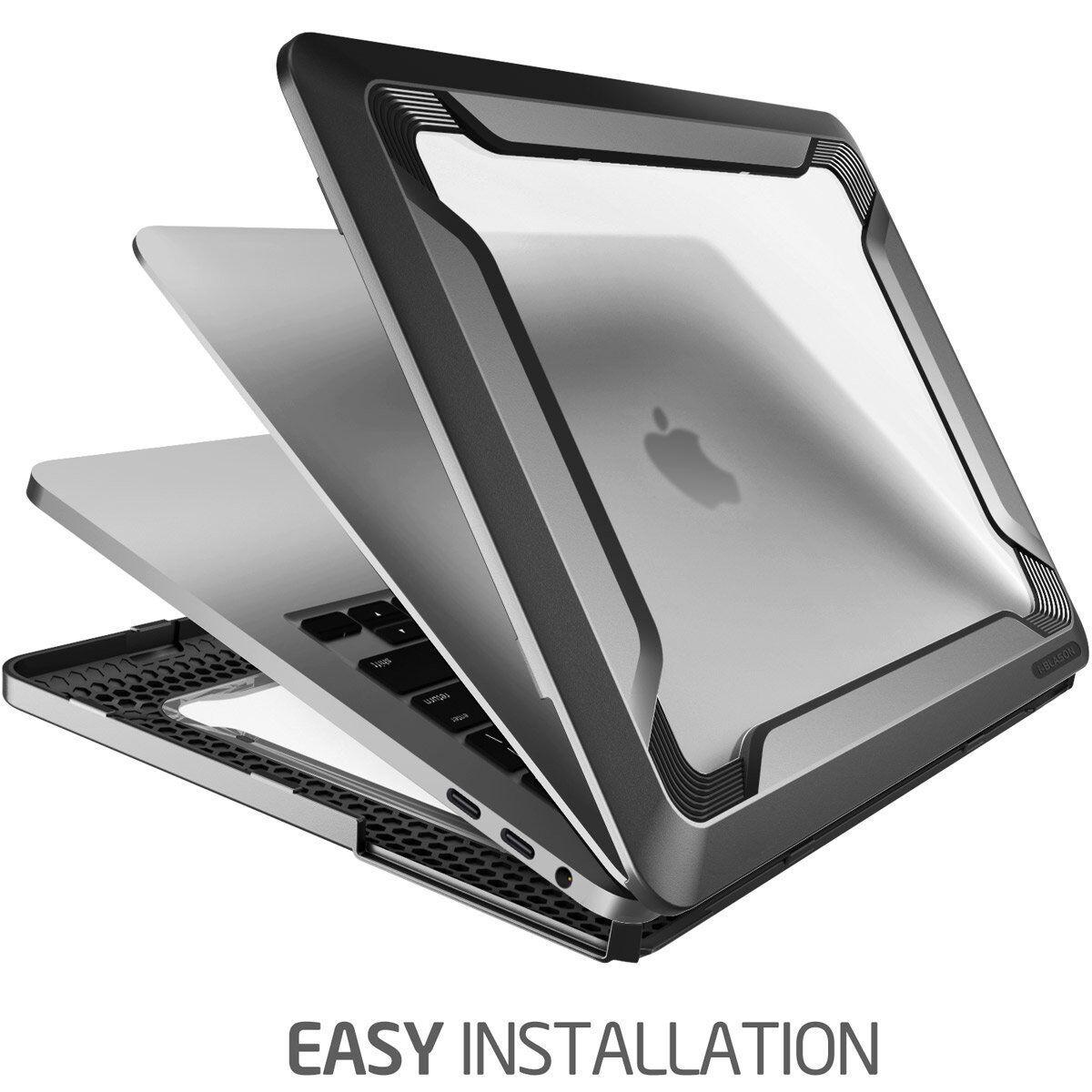 как выглядит Сумка или чехол для ноутбука i-Blason Macbook Pro 15 Slim Rubberized [Dual Layer] Cover with TPU Bumper фото