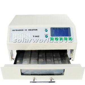 T962 Infrared Solder Led Free Reflow Oven Windowed Drawer IC Heater 180x235mm