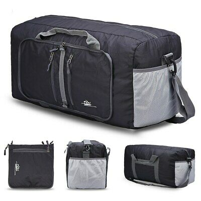 For Camping, Rolling Packable Large Gym Luggage Duffle Bag Foldable -