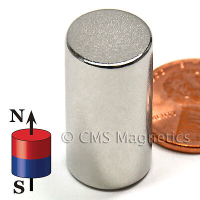 CMS Magnetics® Strong N52 Neodymium Cylinder Magnet 1/2