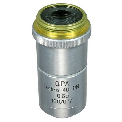 Lomo Microscope Objective - Achromat 40x0.65 Qpa