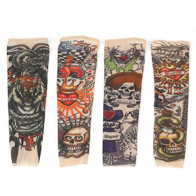 Stk Tattoo Ärmel Tattooärmel Tattoosleeve Skin Stulpe Kostüm Halloween Kinder ()