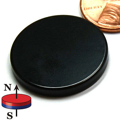 Cms Magnetics Super Strong N52 Neodymium Disc Magnet 1x18 Epoxy Coated 4-pc
