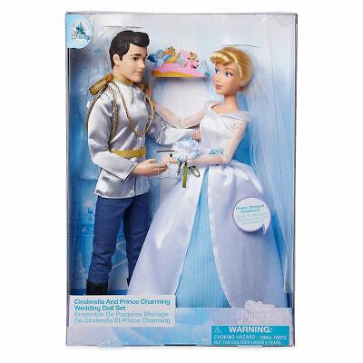 Disney - Cinderella und Prinz Charming - Hochzeitspuppen-Set
