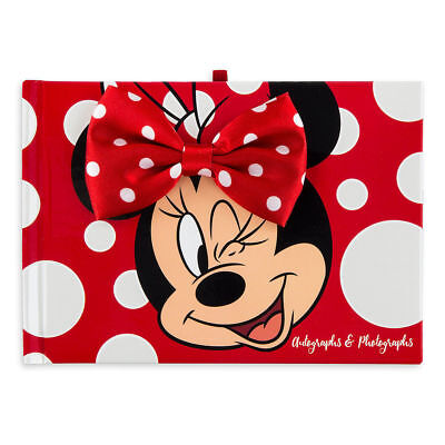(Disney's Minnie Mouse Autograph Book & Photo Album, NEW Edition)