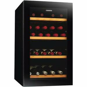Brand New 35 Bottle Single Zone Vintec wine fridge V30SGMEBK Woolloomooloo Inner Sydney Preview
