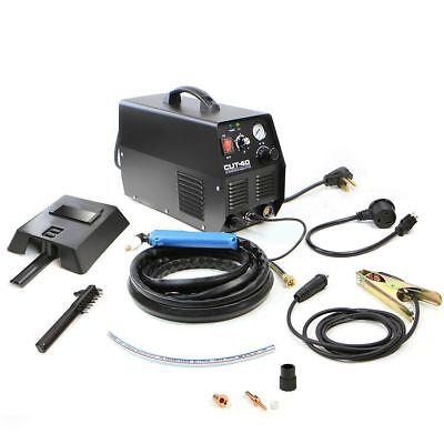 Dc Inverter Pilot Arc Hf Plasma Cutter Dual Voltage 110v220v Cut 40 Amp