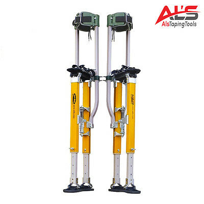 Sur-pro Sur-mag S2 Dual Pole Magnesium Drywall Stilts 24-40 - Large - New
