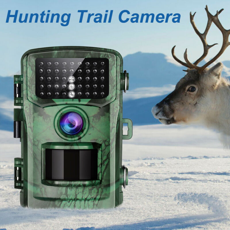 TOGUARD+Trail+Wildlife+Camera+16MP+1080P+Hunting+Cam+PIR+Night+Vision+Scouting