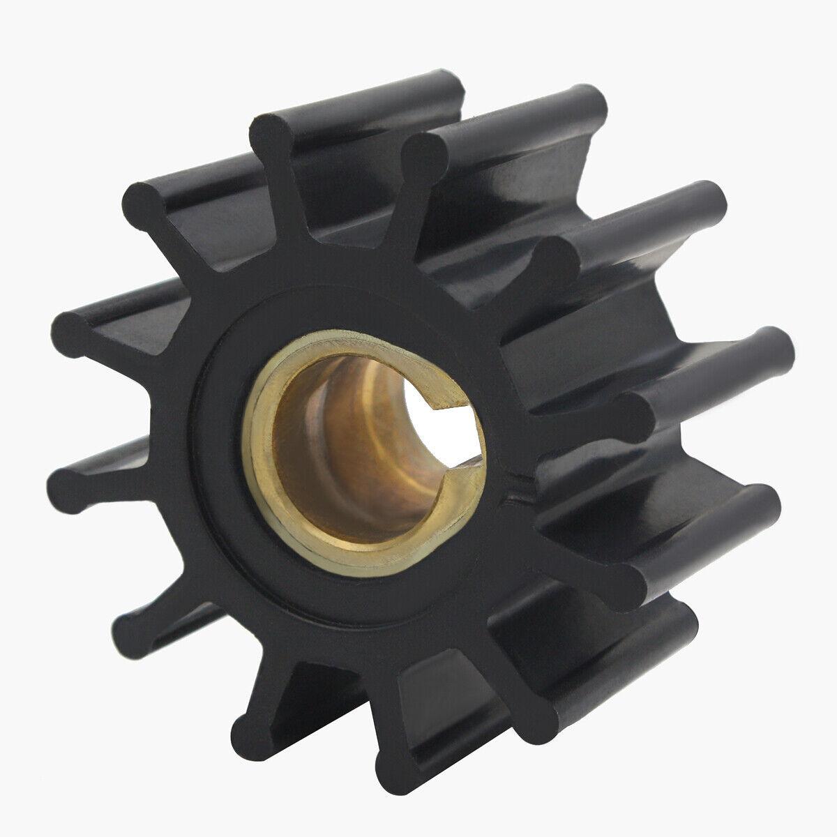 2 Impellers for Jabsco 4568-0001 Sierra 18-3075 Johnson 09-801B Volvo 875575-3