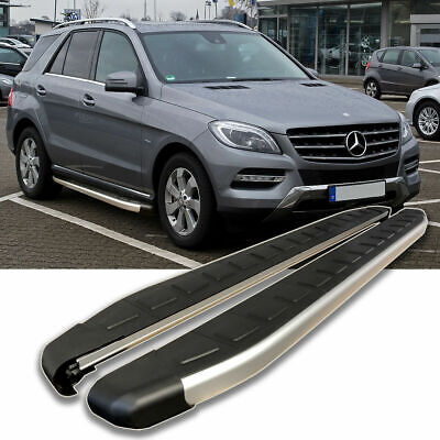 TRITTBRETTER MERCEDES ML W166 | D-EDITION | Bj. 2011 - 2015 | TÜV & ABE