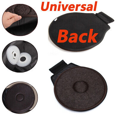 1PC Ultra-thin Swivel Car Seat Rotating Revolving Cushion Memory Foam Mobility ()