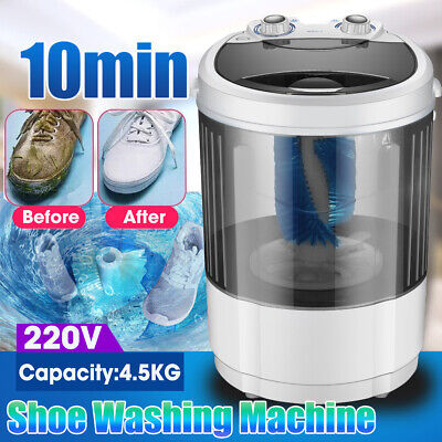 4.5KG Portable Mini Shoes Washing Machine Compact 360° Brush Wash Home Dorm  for sale  Shipping to Nigeria