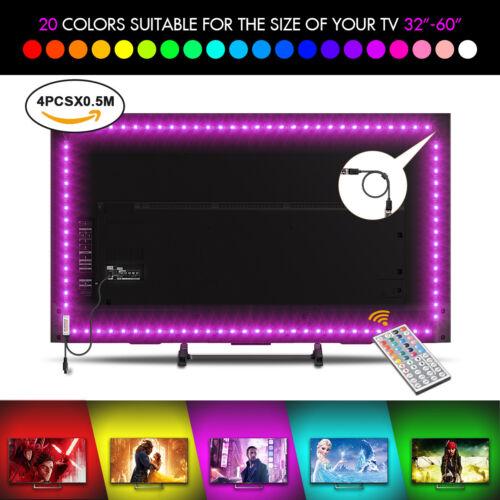 USB LED Strip TV Backlight Bias RGB Strip Lights for 40 to 6
