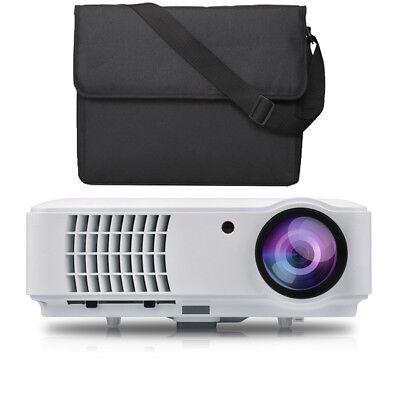 LED Beamer Full HD 1920x1080 LCD Heimkino Video Projektor 1080 Projector Tv NEU