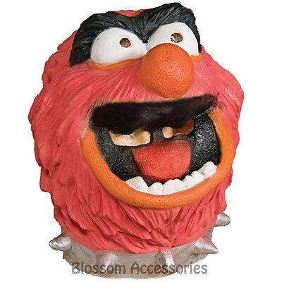 A521 The Muppets Animal Deluxe Adult Overhead Mask Halloween Costume Accessory