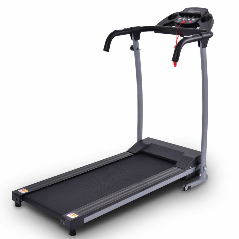 800W Foldable Treadmill Electric Motorized Power Home Workout Running Machine
