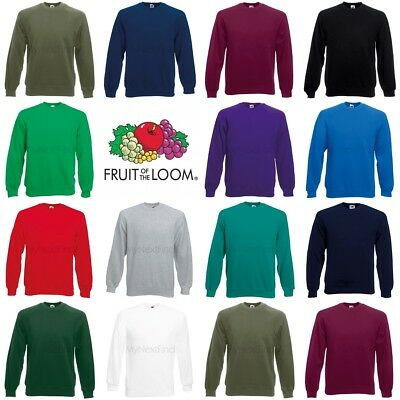 Fruit of the Loom Classic 80/20 Raglan Sweatshirt Loom Raglan Sweatshirt