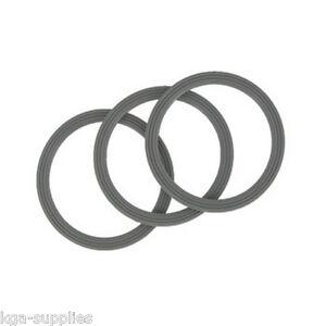 3 X Ridged Liquidiser Base Seal Blender Sealing Ring For Kenwood BL FP Series