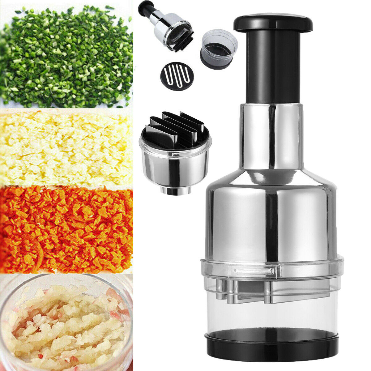 Magic Onion Chopper Food Vegetable Garlic Onion Dicer Mincer