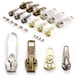 22 Metal Fix A Zipper Zip Slider Rescue Instant Repair Replacement Kit Bag Tent