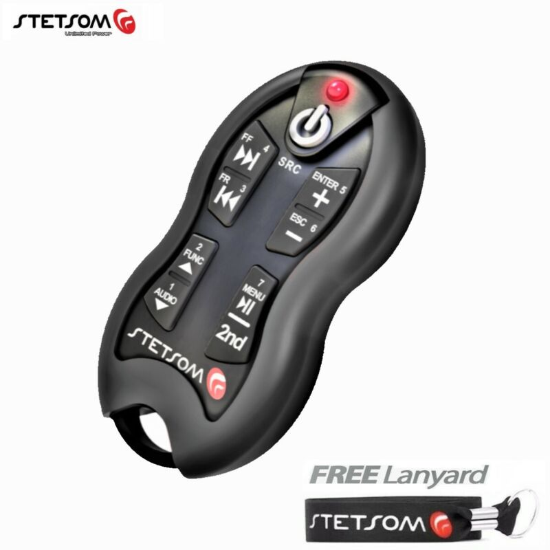 Stetsom SX2 Black - Long Distance Remote Control - 16 Functions - Free Lanyard