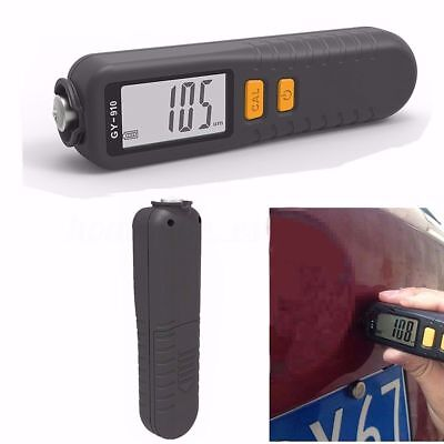 Gy910 Digital Coating Thickness Gauge 0-1300 Lcd Nfe Paint Meter Probe Tester