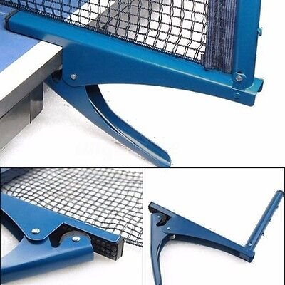 Table Tennis Ping Pong Net Replacement Indoor Game Post Clamp Stand Set  Training 906a2fc4ef5e4