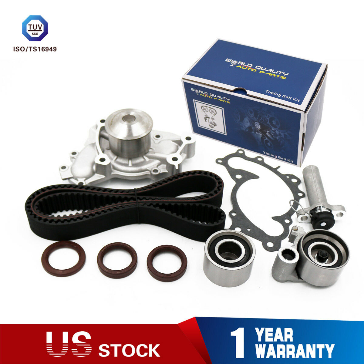 Timing Belt Water Pump Kit For Toyota 30l 1mzfe Avalon Sienna Camry Brand New Fits