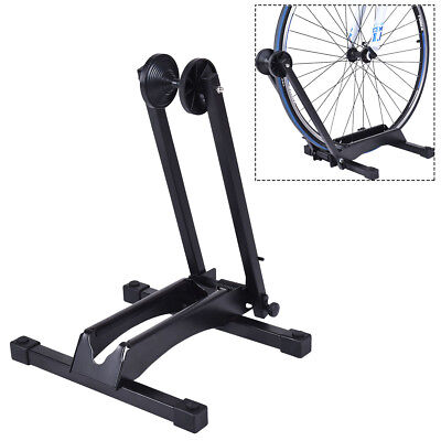 Bike Stand Adjustable Floor Parking Rack Bicycle Storage Folding Holder 16-29""
