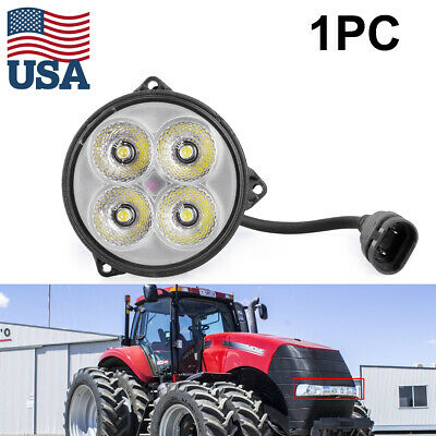 For Case Ihchallengerjohn Deerenew Holland Led Hood Light 87539115 Round Usa